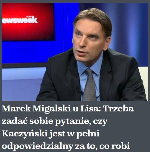 marekMigalski