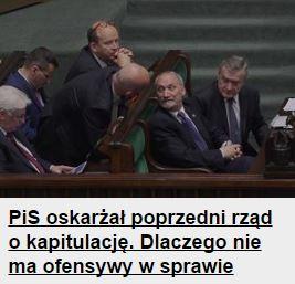 piSoskarżał